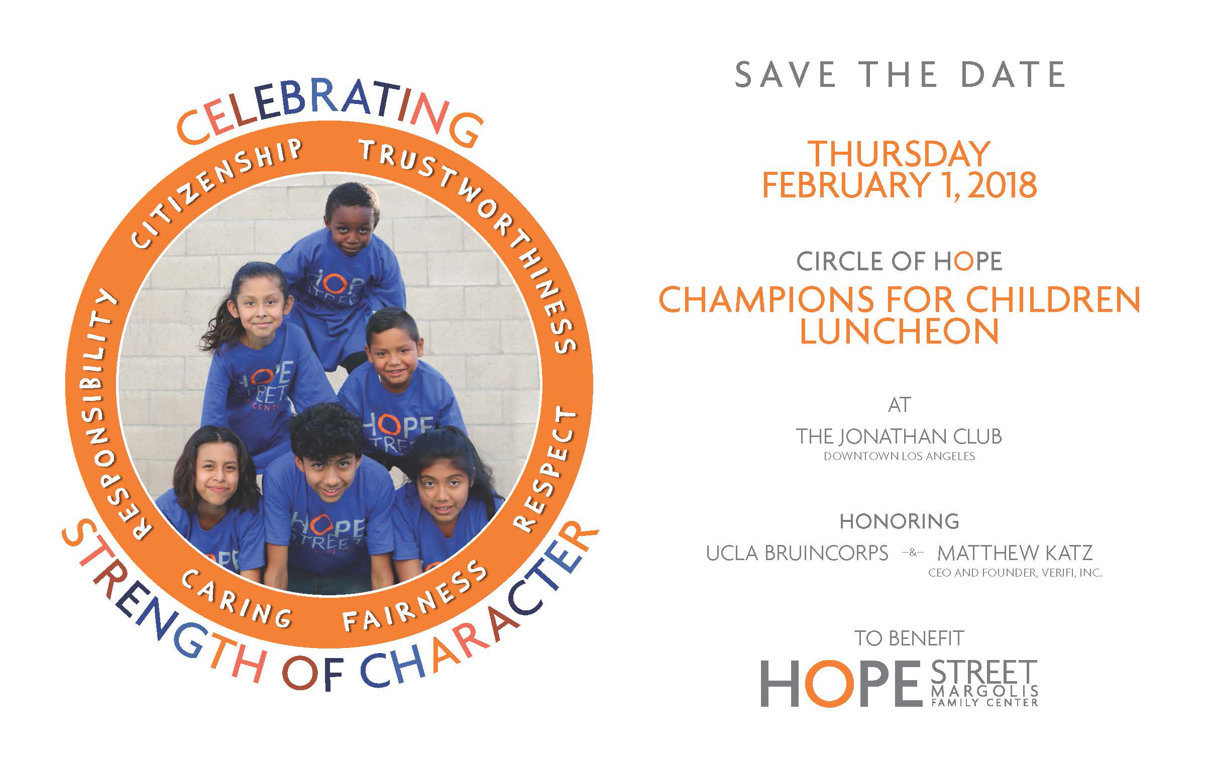 Circle of Hope luncheon invitation