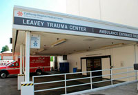 Leavey Trauma Center CHMC